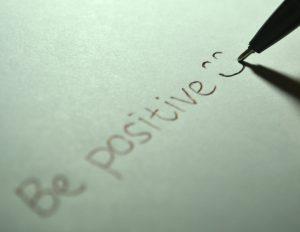 être positive